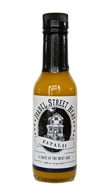 Here's their award-winning Fatalii hot sauce, made with peppers of African origin and a little citrus