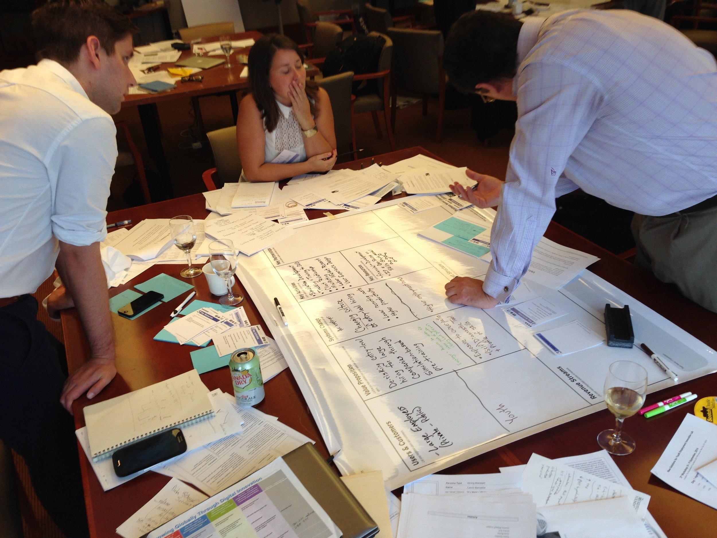 Business Model Canvas Rockefeller Lab