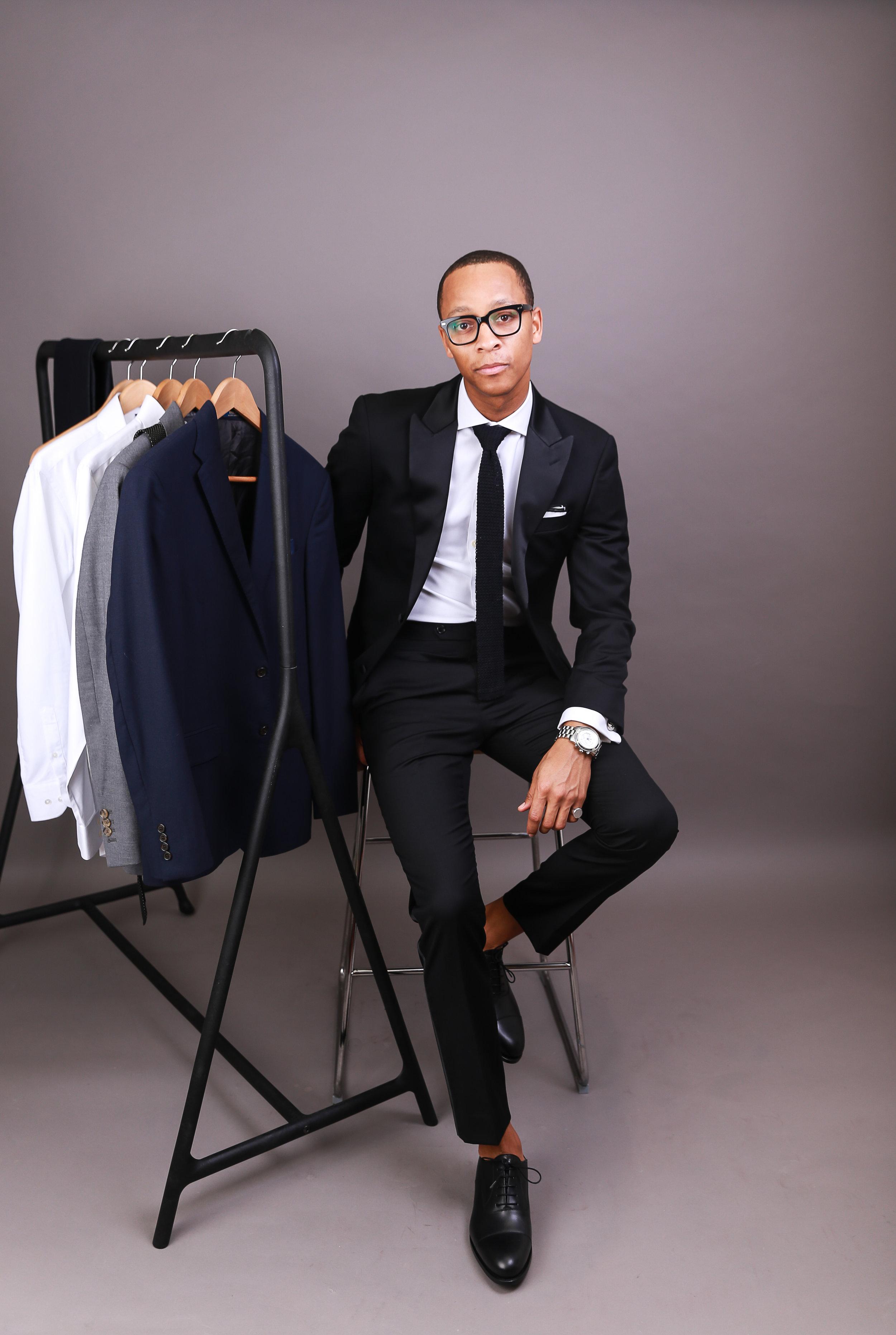 Look 2 - Black Tie