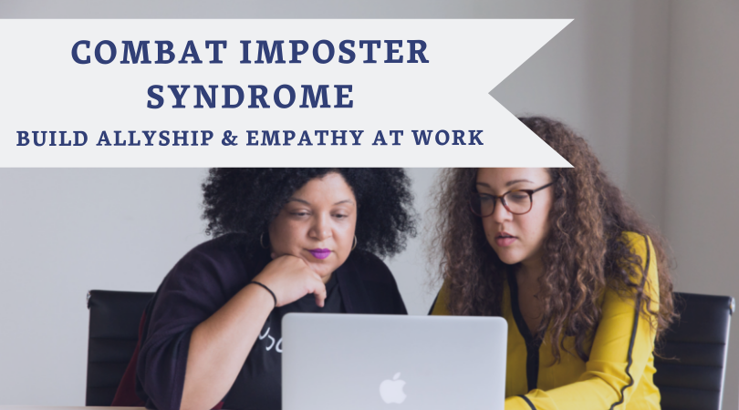 Combat Imposter Syndrome - This workshop focuses on the intersection between bragging, Imposter Syndrome, and owning strengths and achievements. Using actionable steps to remove the mystique around this debilitating concept, women move beyond feelings of Imposter Syndrome to internalize self worth and rise as leaders.Utilizing a range of learning strategies including written exercises, conversation, role play, and group practice with a mentor the group will develop new skills and techniques to combat Imposter Syndrome.
