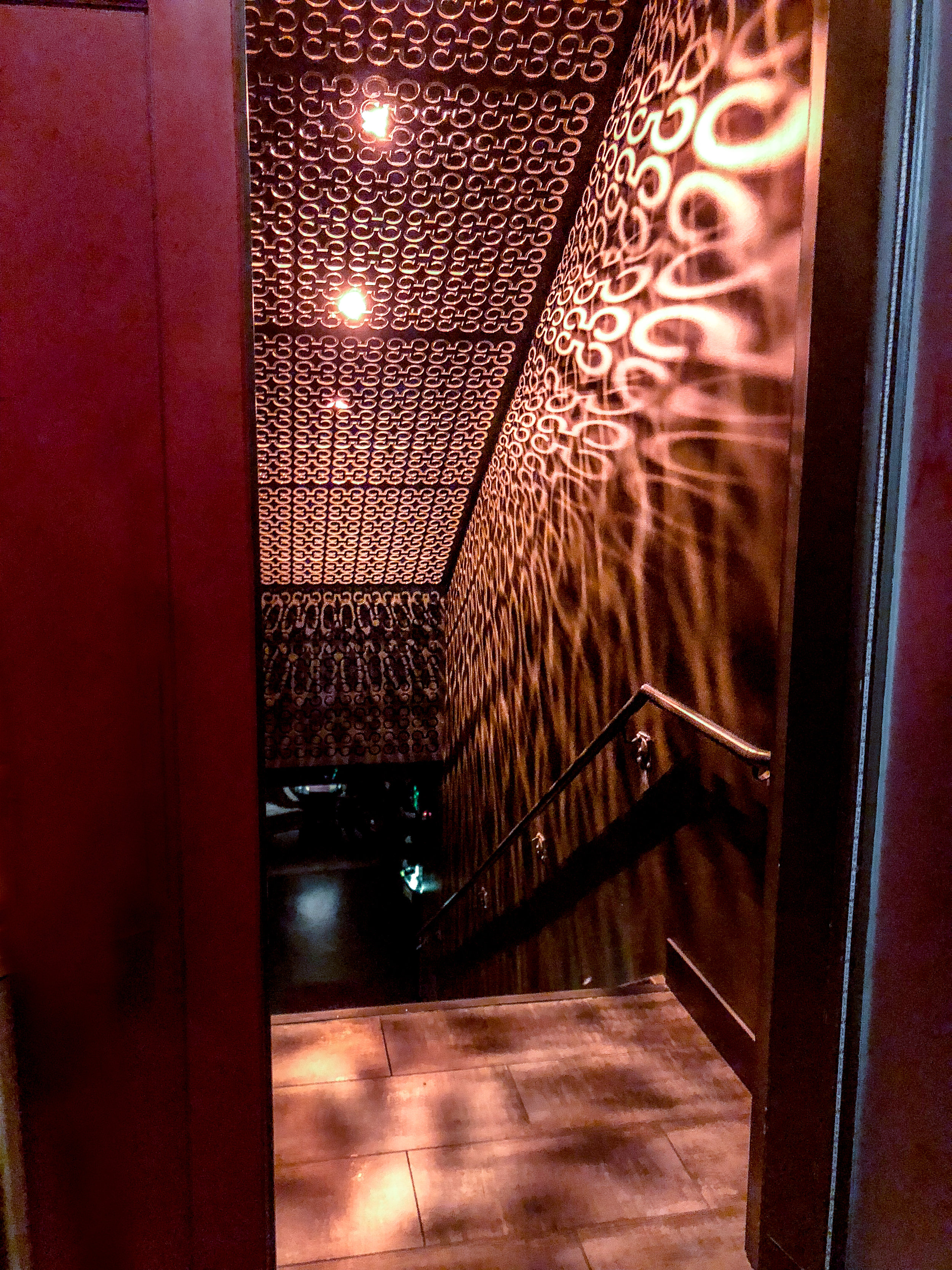 The Crimson Room entrance - such a cool space!