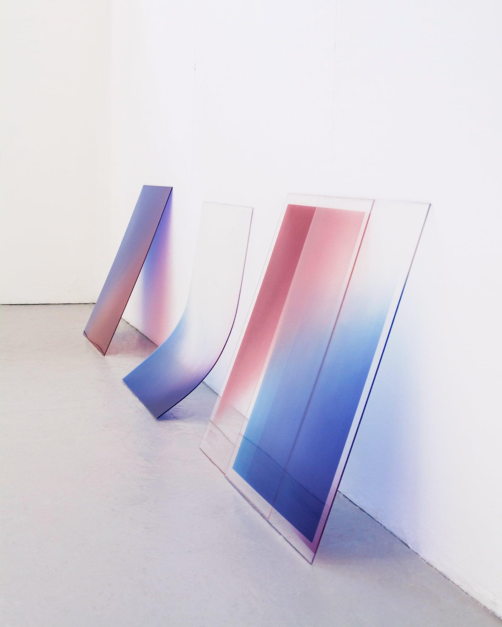 Photo Objects I / Rose Quartz & Serenity by  Szilvia Bolla