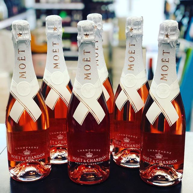 "MOET & CHANDON IMPERIAL NECTAR ROSE CHAMPAGNE - LIMITED EDITION  Designed by @virgilabloh an American fashion designer who has been the artist director of Louis Vuitton since March 2018.  Each bottle bares the designer's signature ""DO NOT DROP"". Available now at Primo Fine Wine & Spirits. 🍾🍾🍾🥂🍓 . . . . . . . . . . . #louisvuitton #moet #moetrose #moetimperial #champagne #donotdrop #moetandchandon #miami #miamibeach #whotelmiami #onehotelmiami #stkmiamibeach #myntlounge #setaimiami #artbasel #delanomiami #saturday #miamiluxury #miamiliquorstore #liquor #luxurymiami"