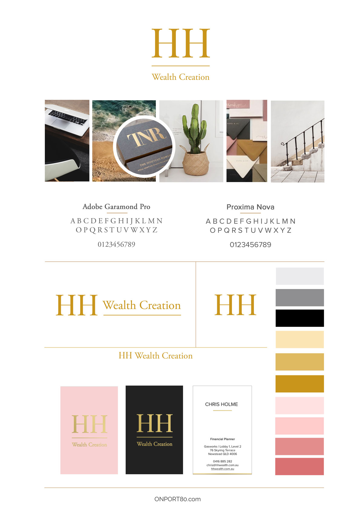 HH Wealth Brand Style Guide by On Port 80