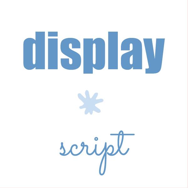 Display fonts, script fonts. The font matters. Web design tips for small businesses  Logo & web design by On Port 80, Brisbane