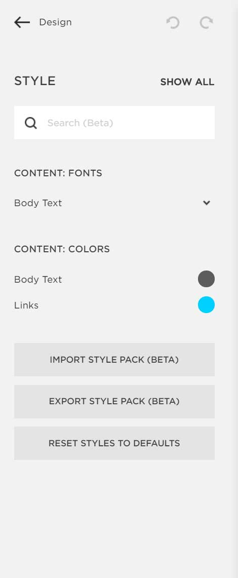 Changing fonts in Squarespace. The font matters. Web design tips for small businesses  Logo & web design by On Port 80, Brisbane
