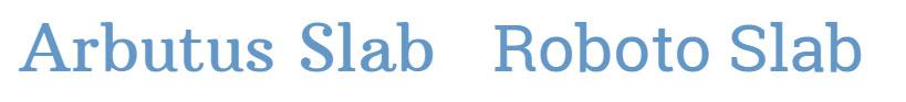 Favourite slab serif fonts. The font matters. Web design tips for small businesses  Logo & web design by On Port 80, Brisbane