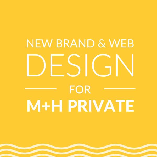 Brand & Web Design for MH Private, On Port 80 Web Design, Brisbane, Australia