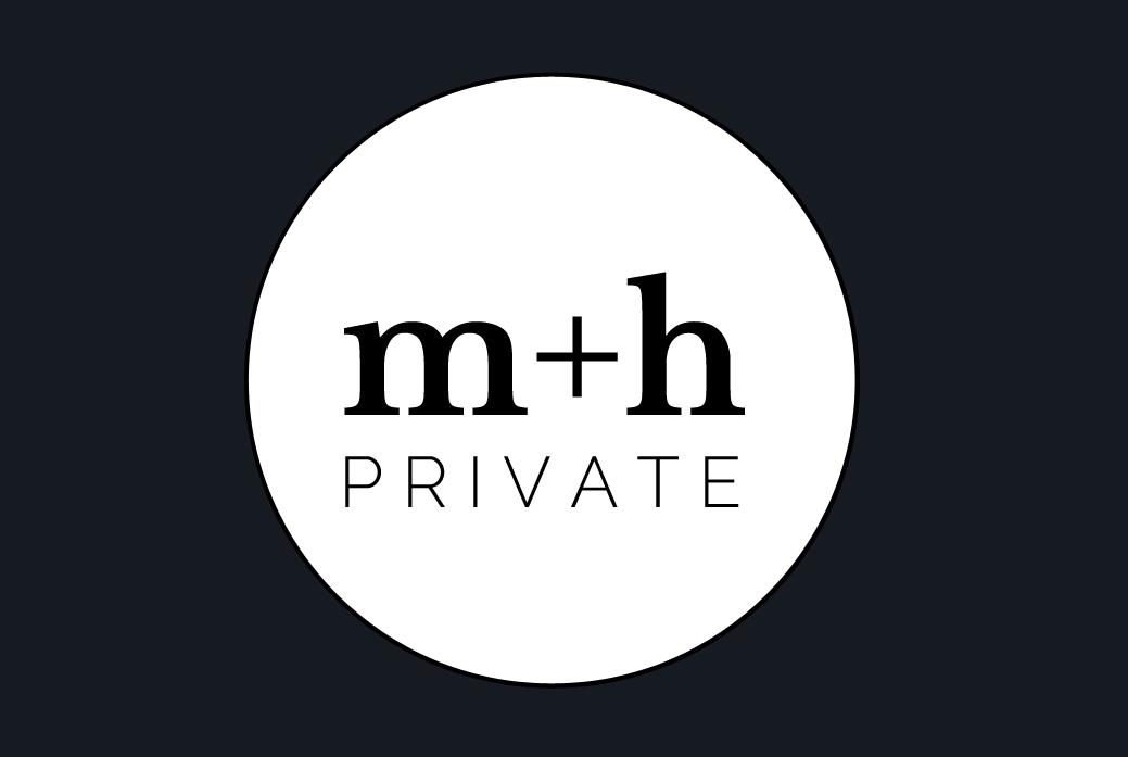 m+h business Card Front, On Port 80 Brand & Web Design, Brisbane, Australia