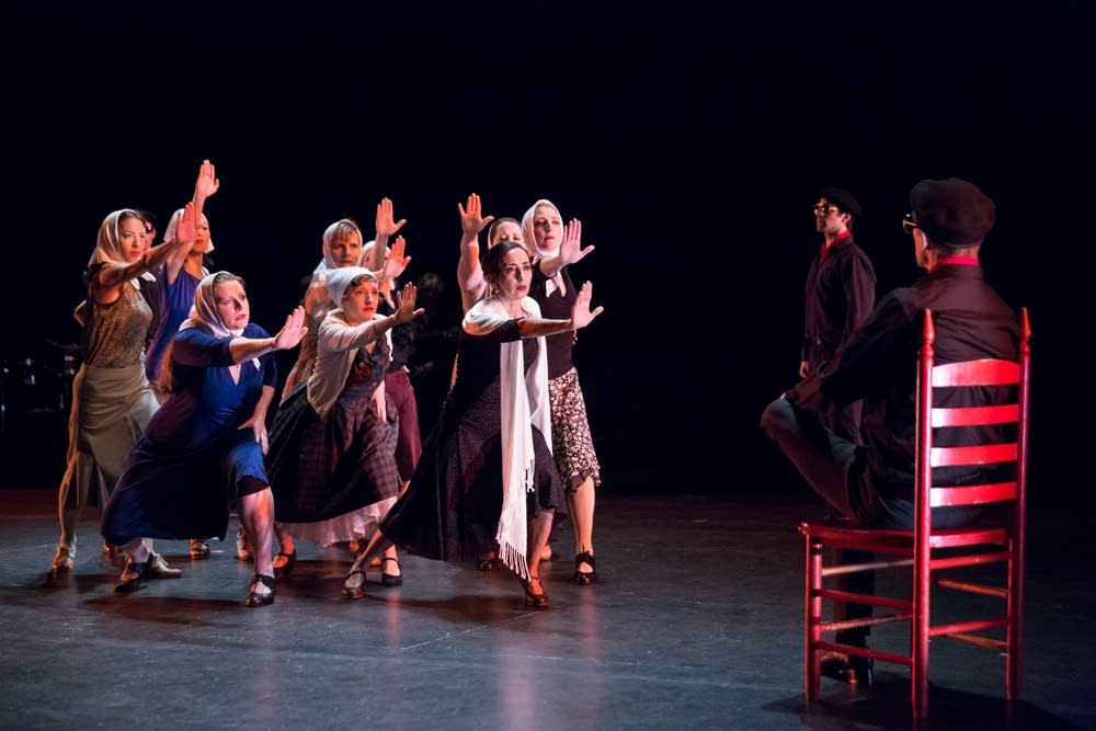 Photo by Bill Cameron- Garden of Names 2017 at the Cowles Center for Dance