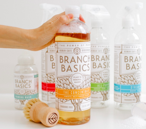 Branch Basics non-toxic cleaning supplies $10 off