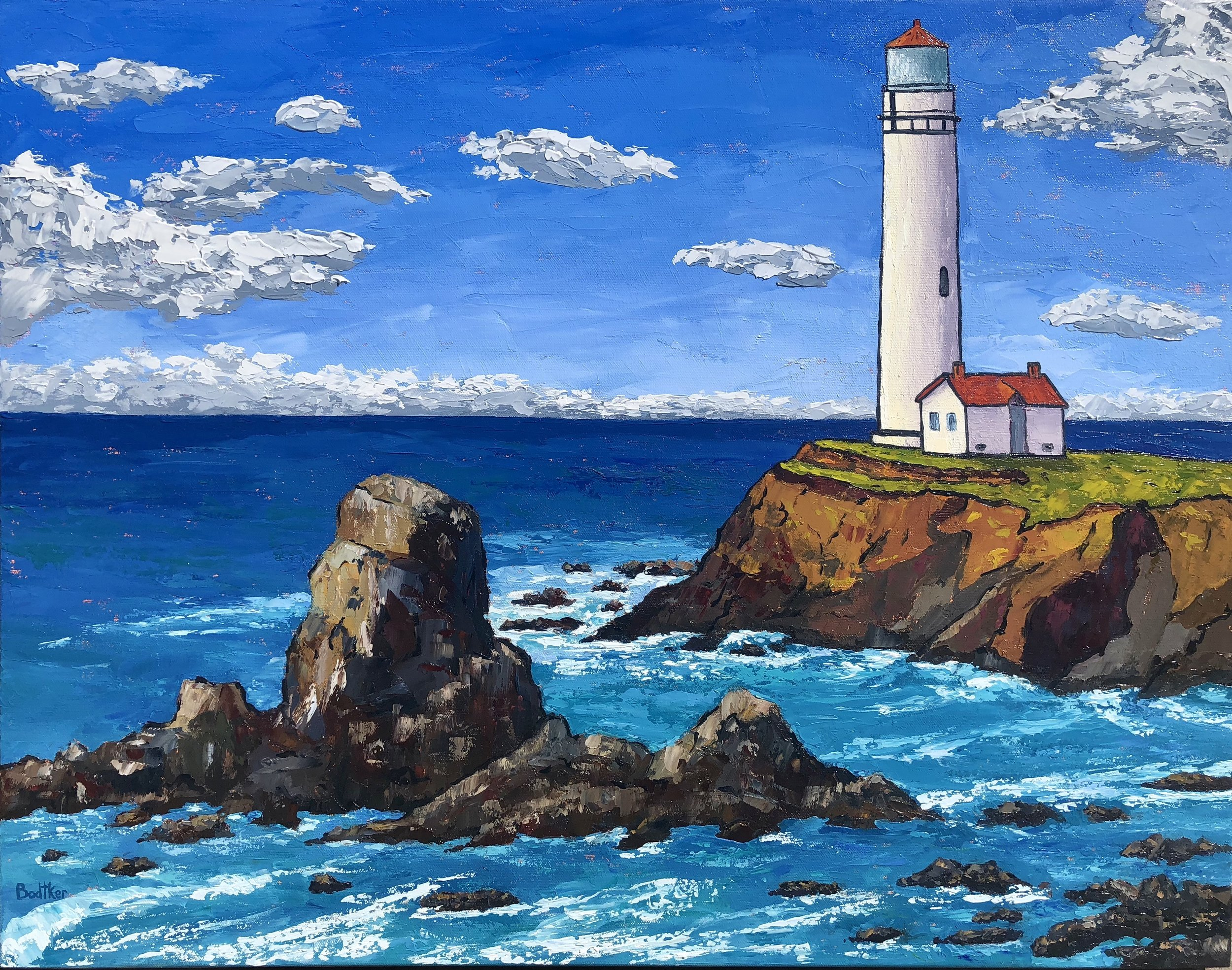 Pigeon Point Lighthouse - 28x22