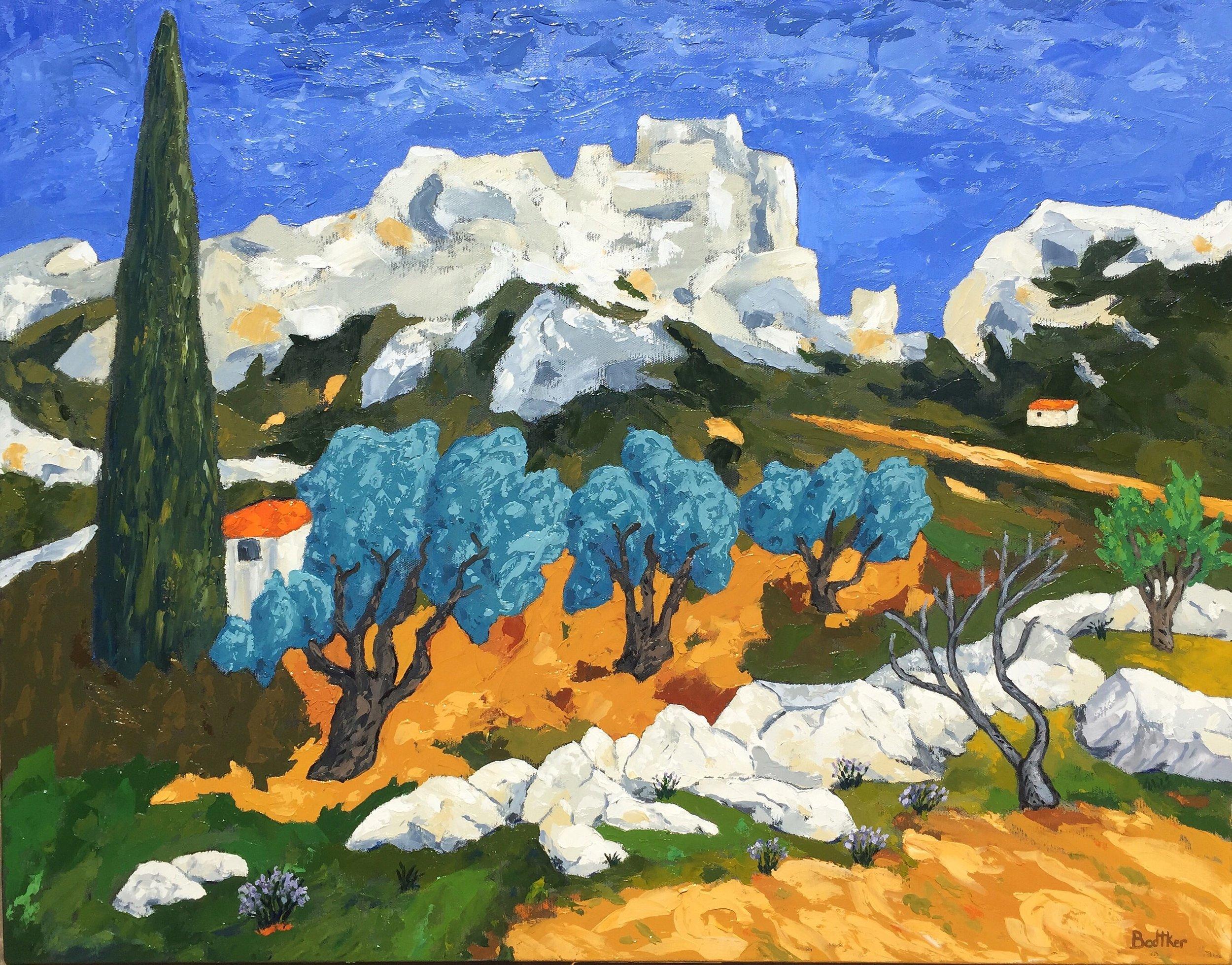 Les Baux-de-Provence - 22x28