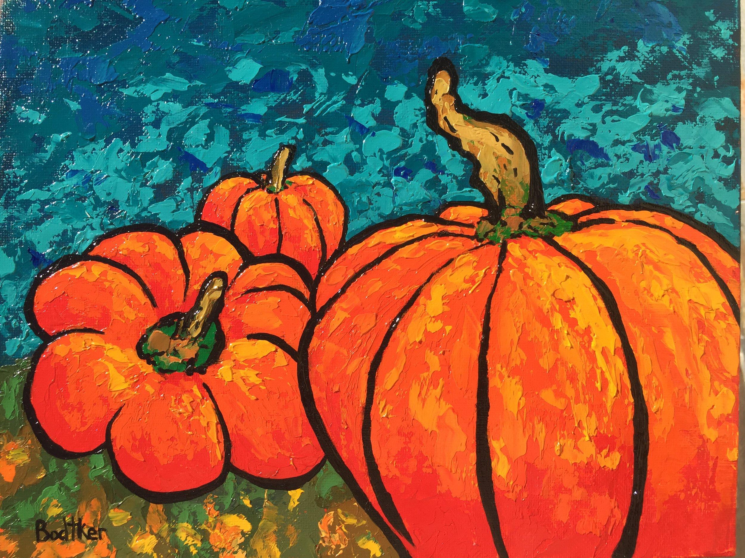 Pumpkin Patch - 8x10
