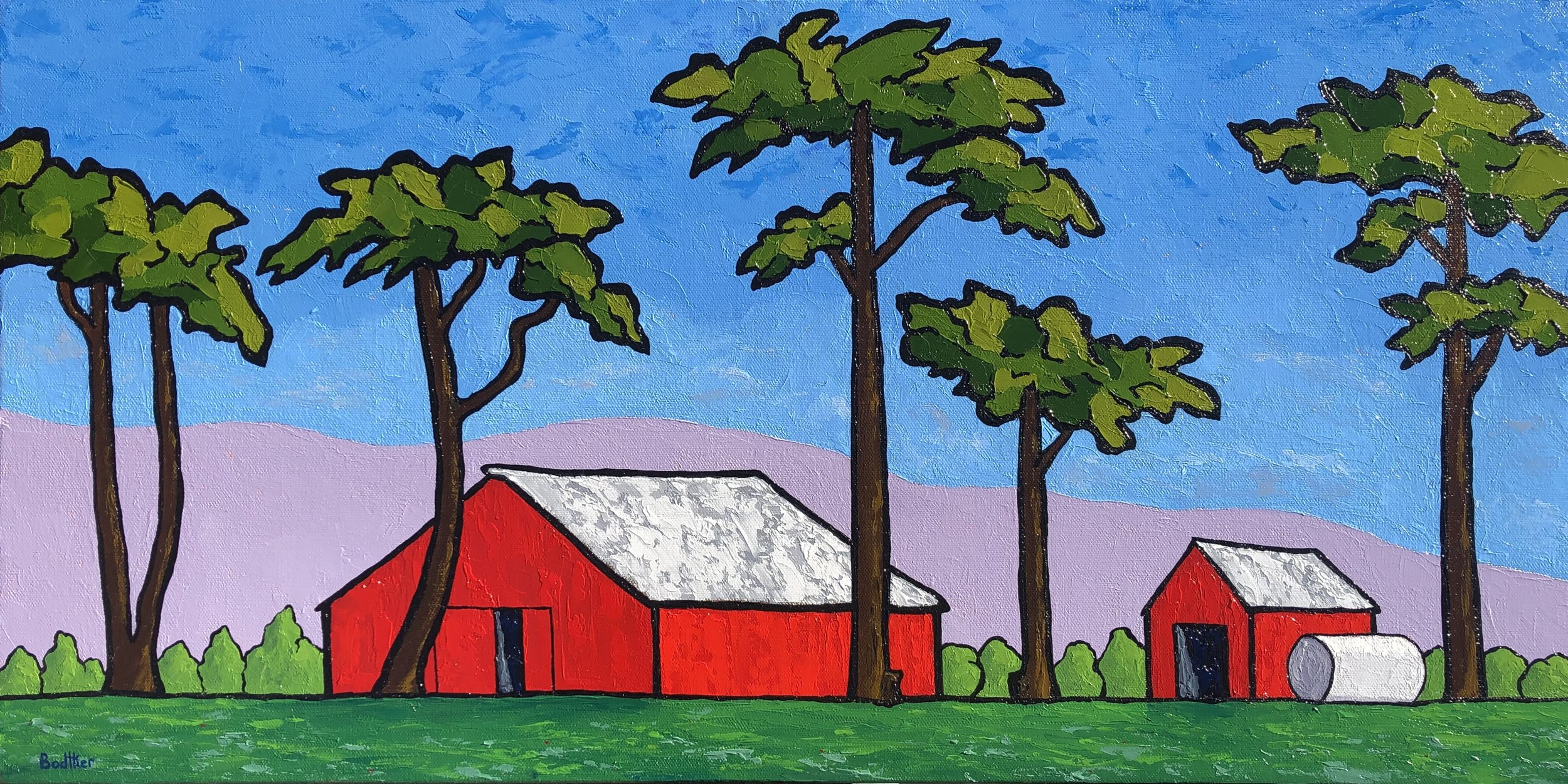 Castroville Farm By Day - 15x30