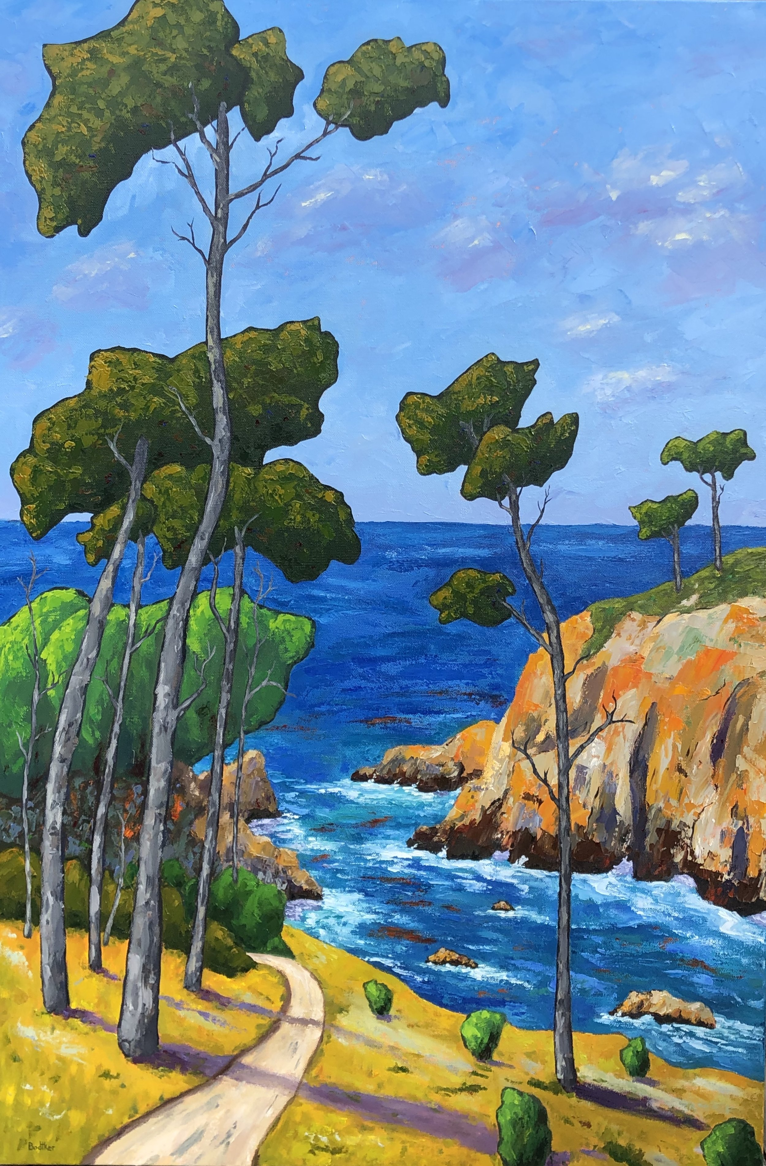 Point Lobos Path - 24x36