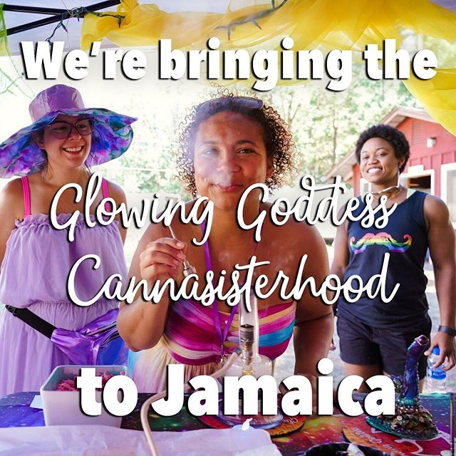 There are a few spots left at our Jamaican Getaway!!! Our one and only non-camping retreat will be a lux vacation with all your fav new cannabesties!! Private beaches, local cuisine, sisterseshes, @ganjayoga with Dee herself, puff and paint with @ariesartnw, a Rastafarian Priestess led cannabis ceremony, and MORE!! Tix in link in bio! #glowawaywithus . . . . . . #cannasistersforlife #glowinggoddessgetaway #glowinggoddesses #sistersesh #cannabesties #glowup #jamaicancannabis #cannasisters #stonersisterhood #glowinggoddess #jamaicanganja #ganjagoddess #kushqueens #ladystoner #womeninweed
