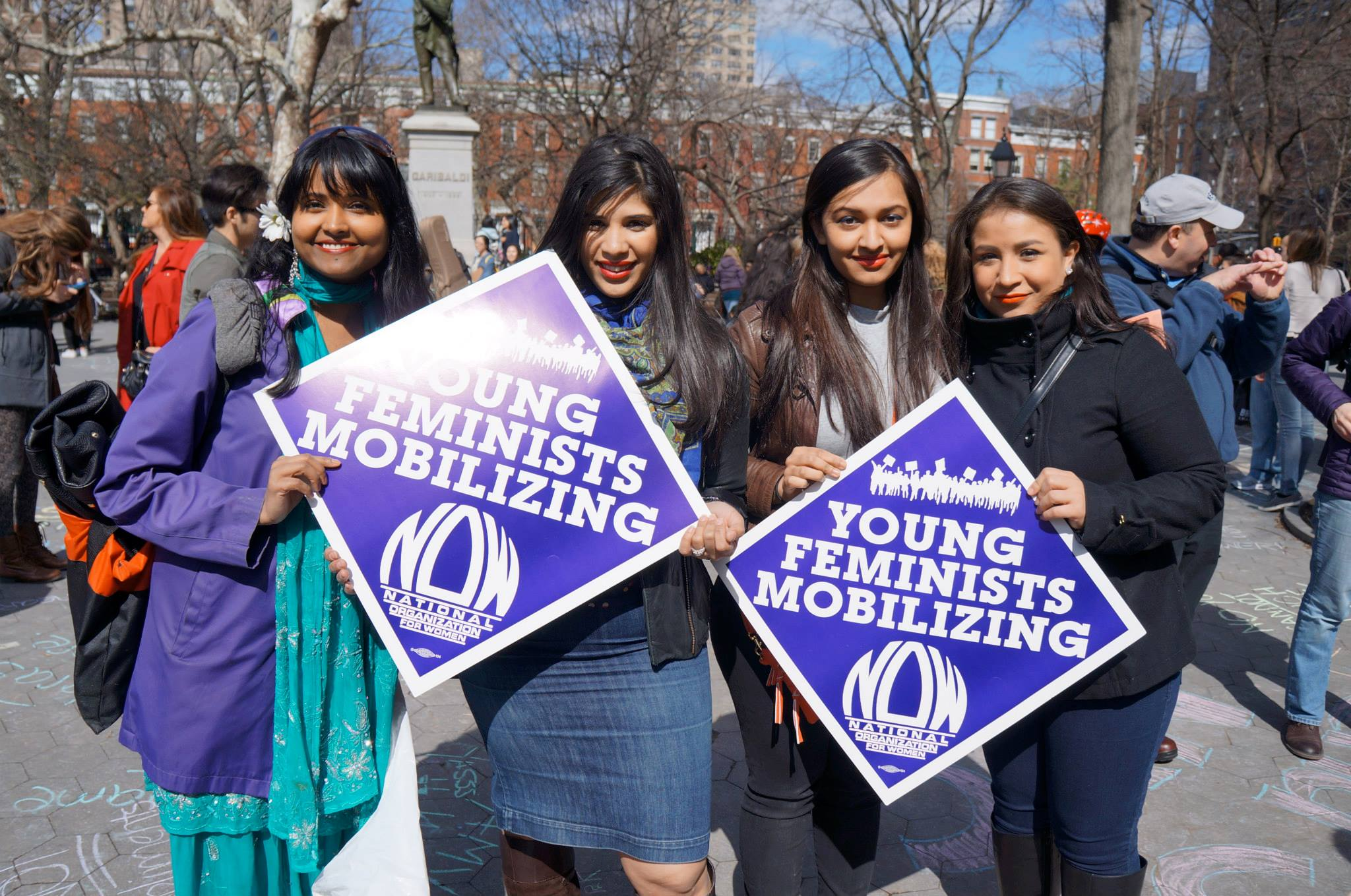 International Stop Street Harassment Week: New York City Rally 2014