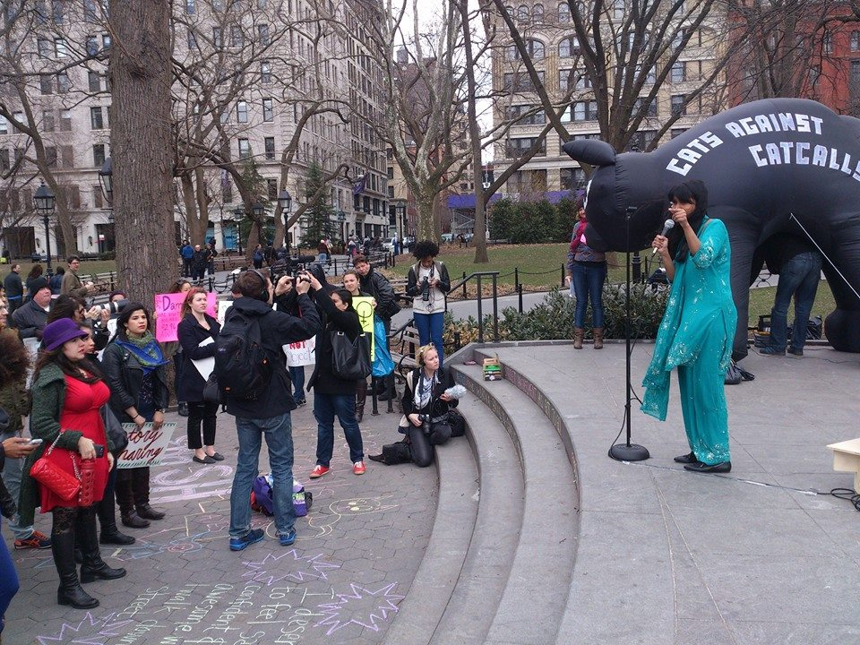 Co-Sponsor and Presenter with Hollaback!   International Stop Street Harassment Week: New York Rally 2016   Tompkins Square Park, New York, NY  April 16, 2016