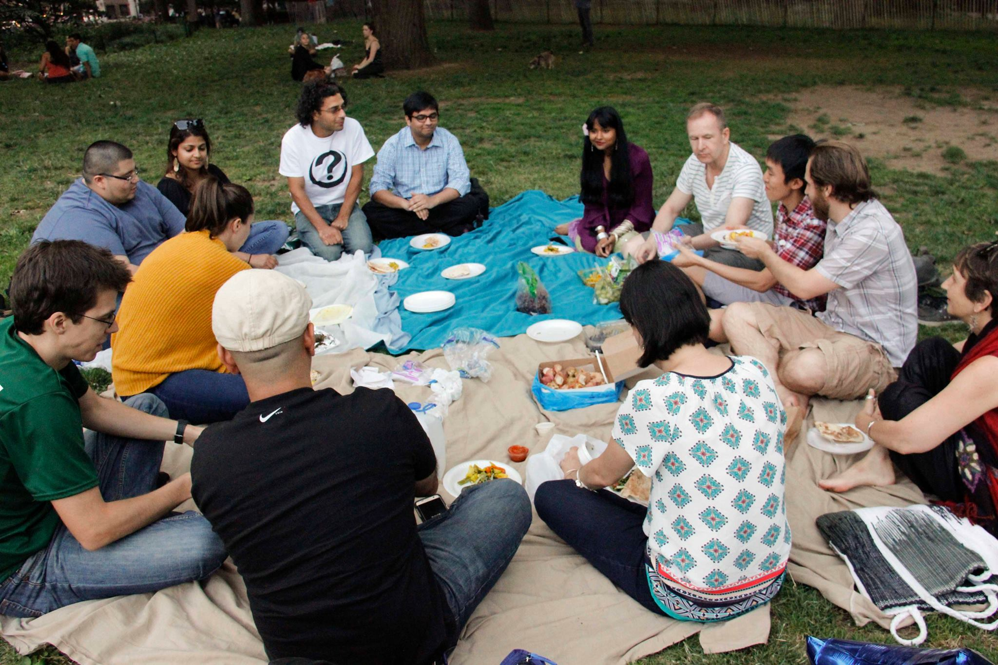 LGBTQ Muslims and Allies Iftar, July 2, 2016, Washington Square Park, New York: Co-organizer with Muslims for Progressive Values.
