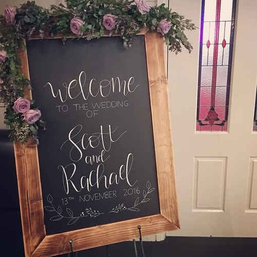 The Write Design Co - Specialising in bespoke hand lettering for wooden & chalkboard signage for any occasion.