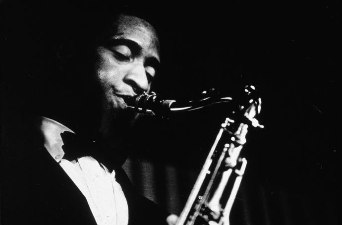 """Sonny Rollins in the mid-fifties, after helping to establish himself with performances captured on """"Classic Savoy Be-Bop Sessions 1945-49."""""""