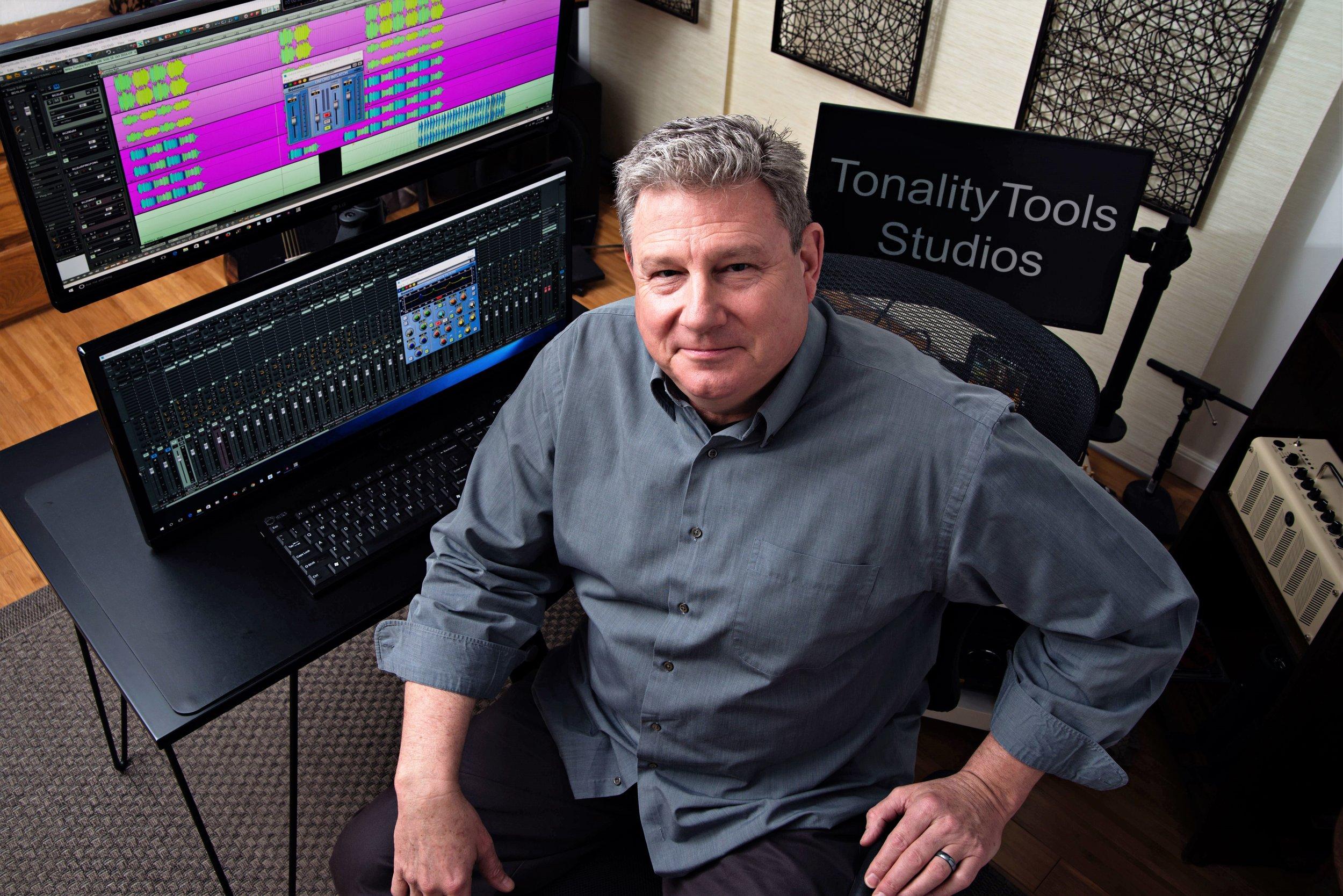 Steve Marlowe of TonalityTools, LLC, Studios & Musician Services, Creator of AngleIrons