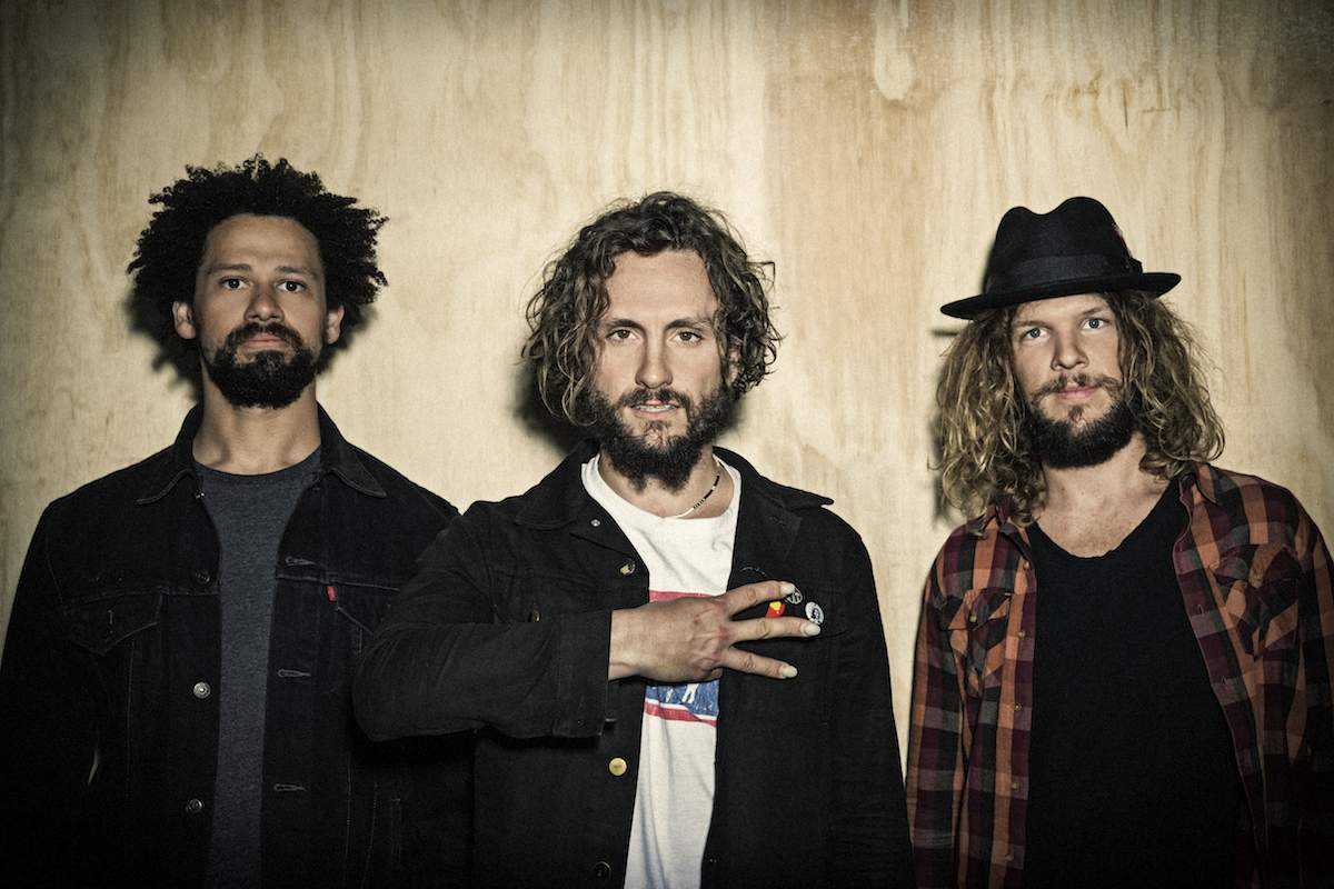 JOHN BUTLER TRIO   CHURCH ROAD WINERY, NAPIER  Fri Mar 30 2018