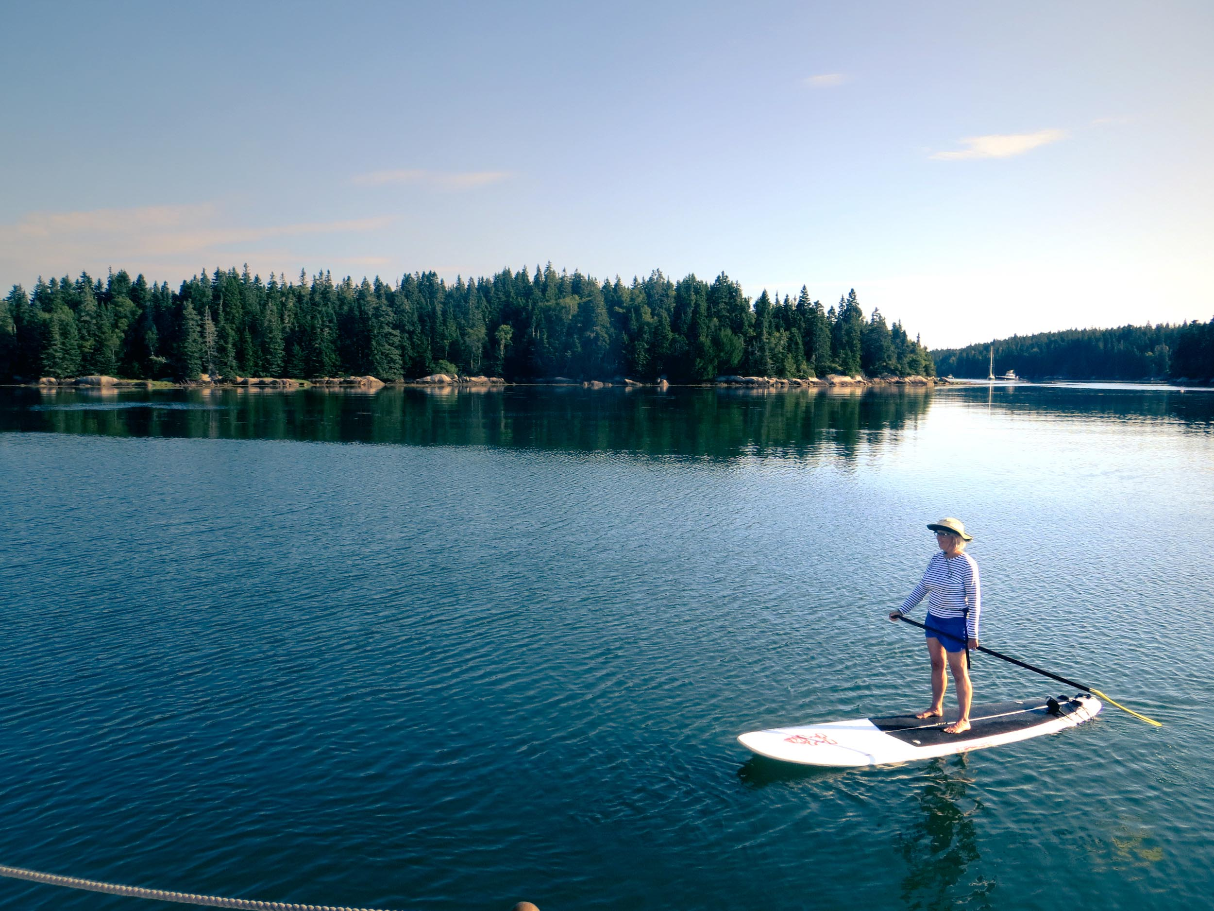 Give stand-up paddle boarding a try. We've got two!