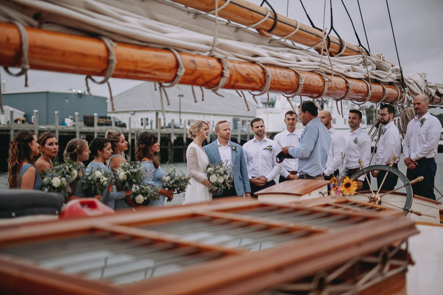 Our captain is licensed to perform wedding ceremonies. Photo: Closer North