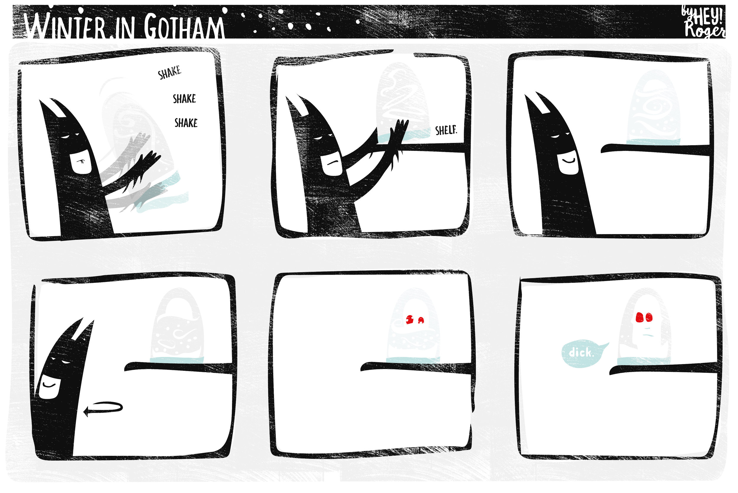 Webcomic about Batman and Mr.Freeze not getting along.