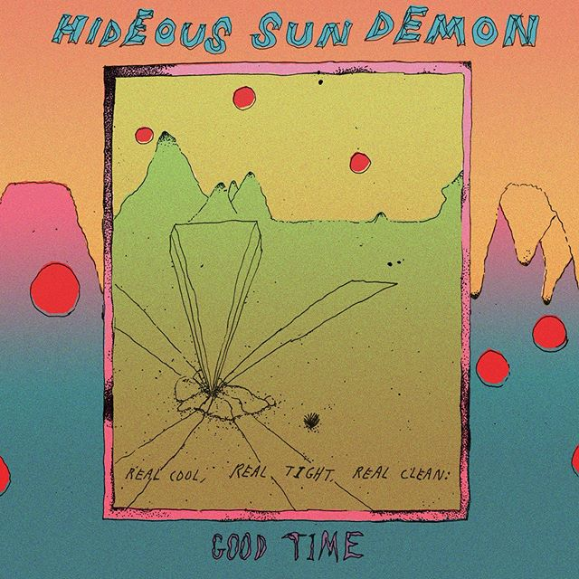 "It's finally here! @hideoussundemon's brand new EP 'Good Time' is out now!!! Head to our bio for a listening link + to get your hands on their cool 7"" vinyl🔥  REAL COOL, REAL TIGHT, REAL CLEAN!"
