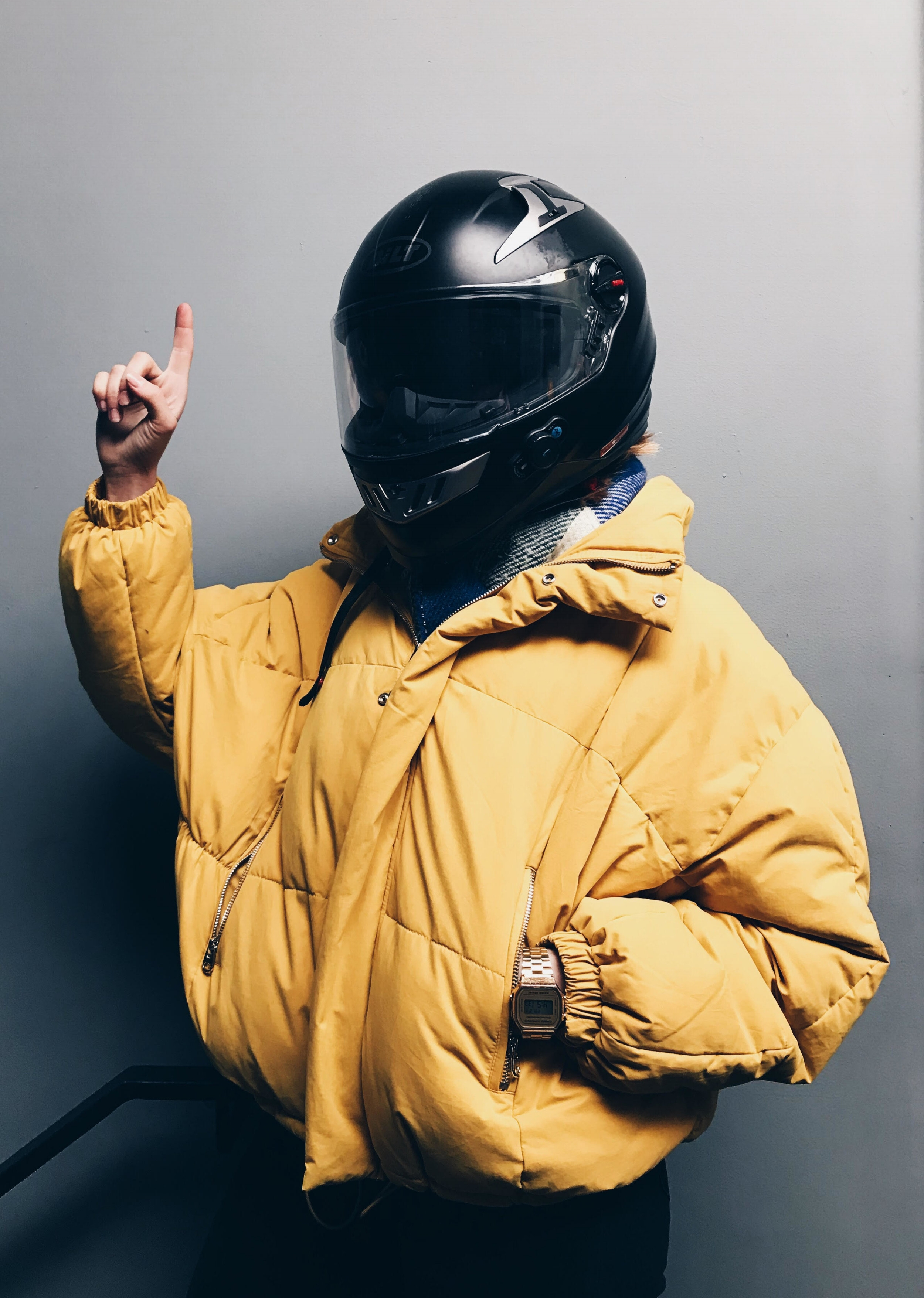 this is me - This is mostly how I look like on not so warm but sunny days. Being one with my yellow jacket and my helmet, hopping-off of my Honda Rebel 250. Just another day keeping my aesthetic bold and wild. Essentials are essentials. Let's get into detail...