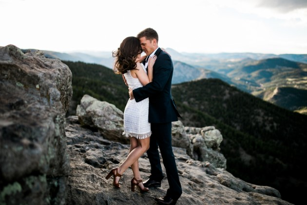 Ciara + Chris: Colorado Rocky Mountain Engagement Photography | Image: Ashlee Crowden Photography