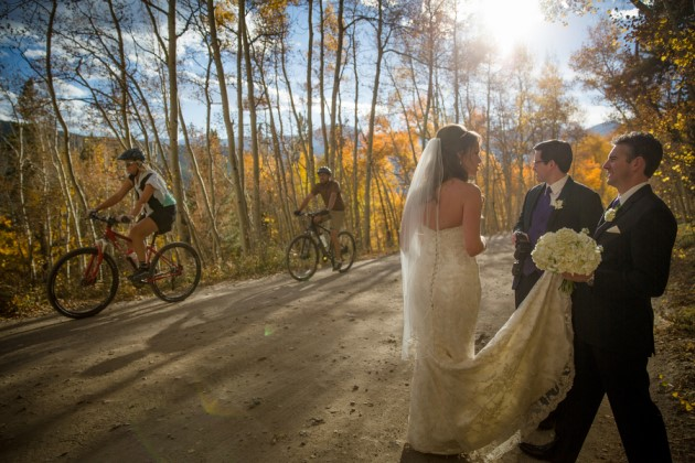 Alison + Aaron: Fall Breckenridge Wedding at the Lodge and Spa | Image: Timothy Faust Photography