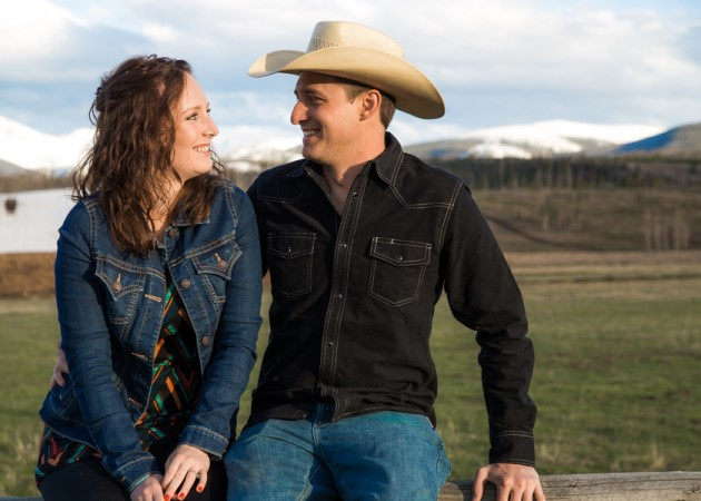 Sarah + Ryan: Colorado Mountains Engagement Photography | Image: Jonathan Kohlwey Photography