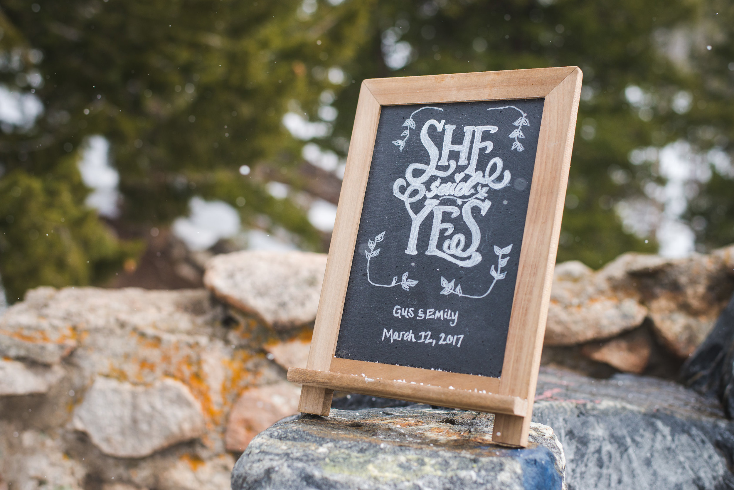 Snowy Spring Outdoor Wedding in Colorado overlooking Lake Dillon | Keeping Composure Photography + Summit Mountain Weddings