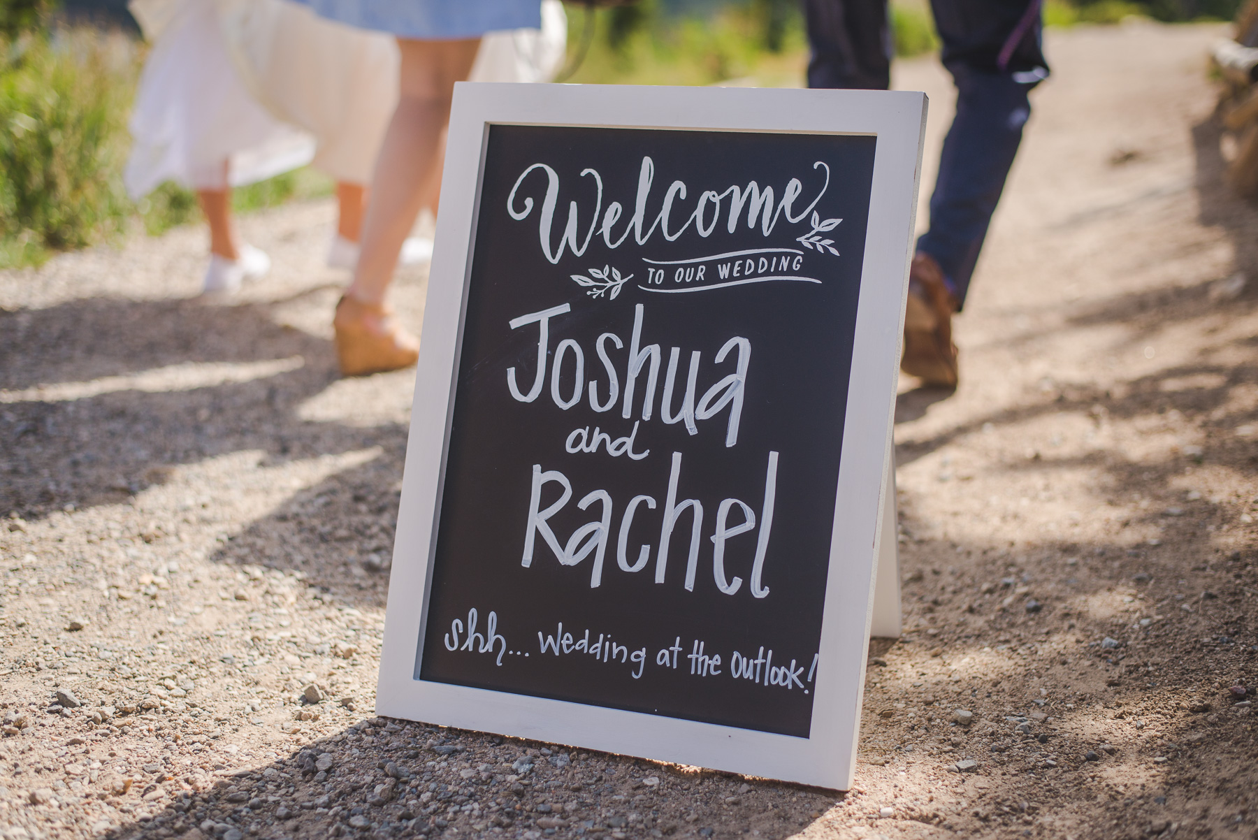colorado small wedding sign for sapphire point | summit mountain weddings