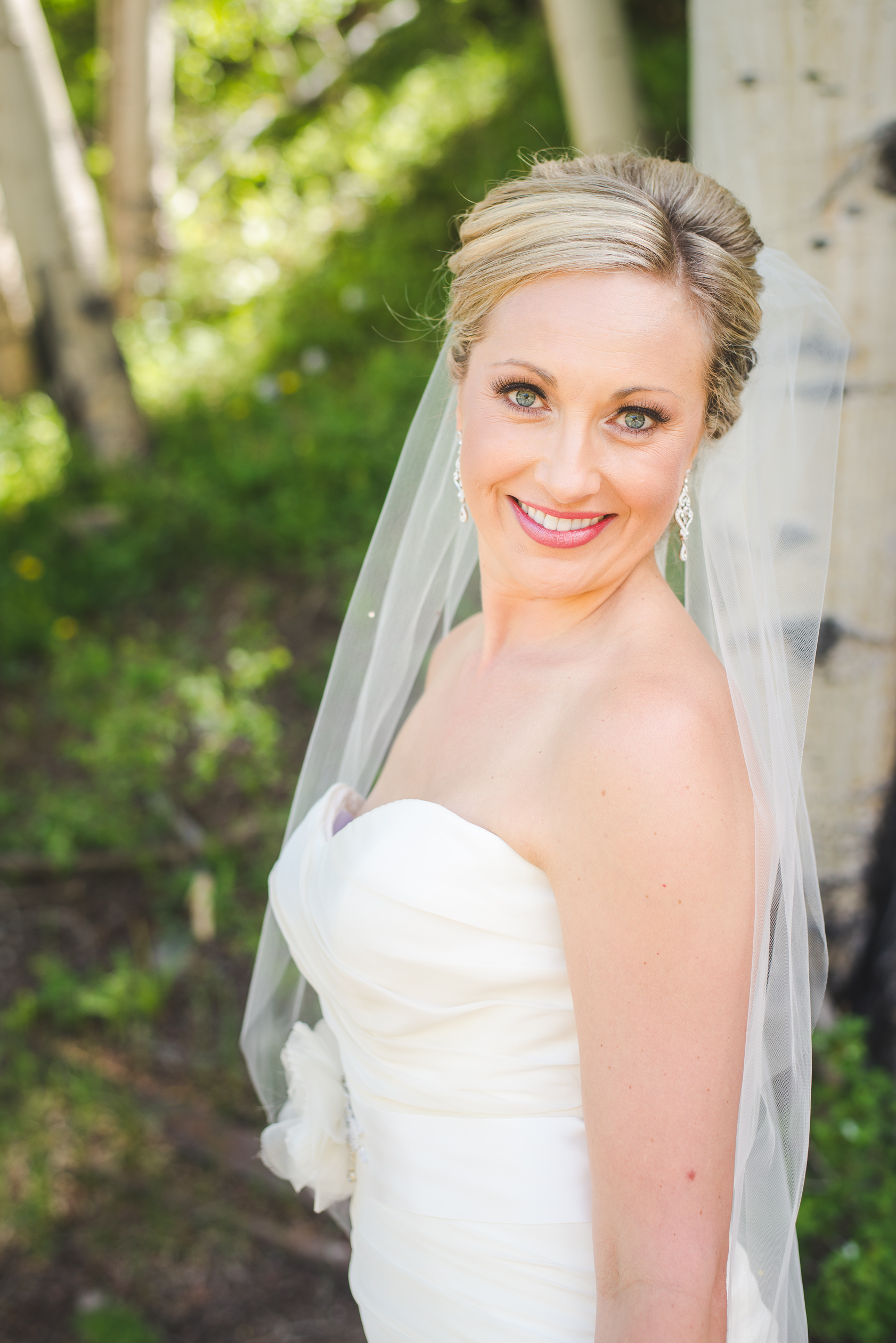 Bridal Portrait |Summit Mountain Weddings Intimate Wedding | Breckenridge, Colorado elopement photographer