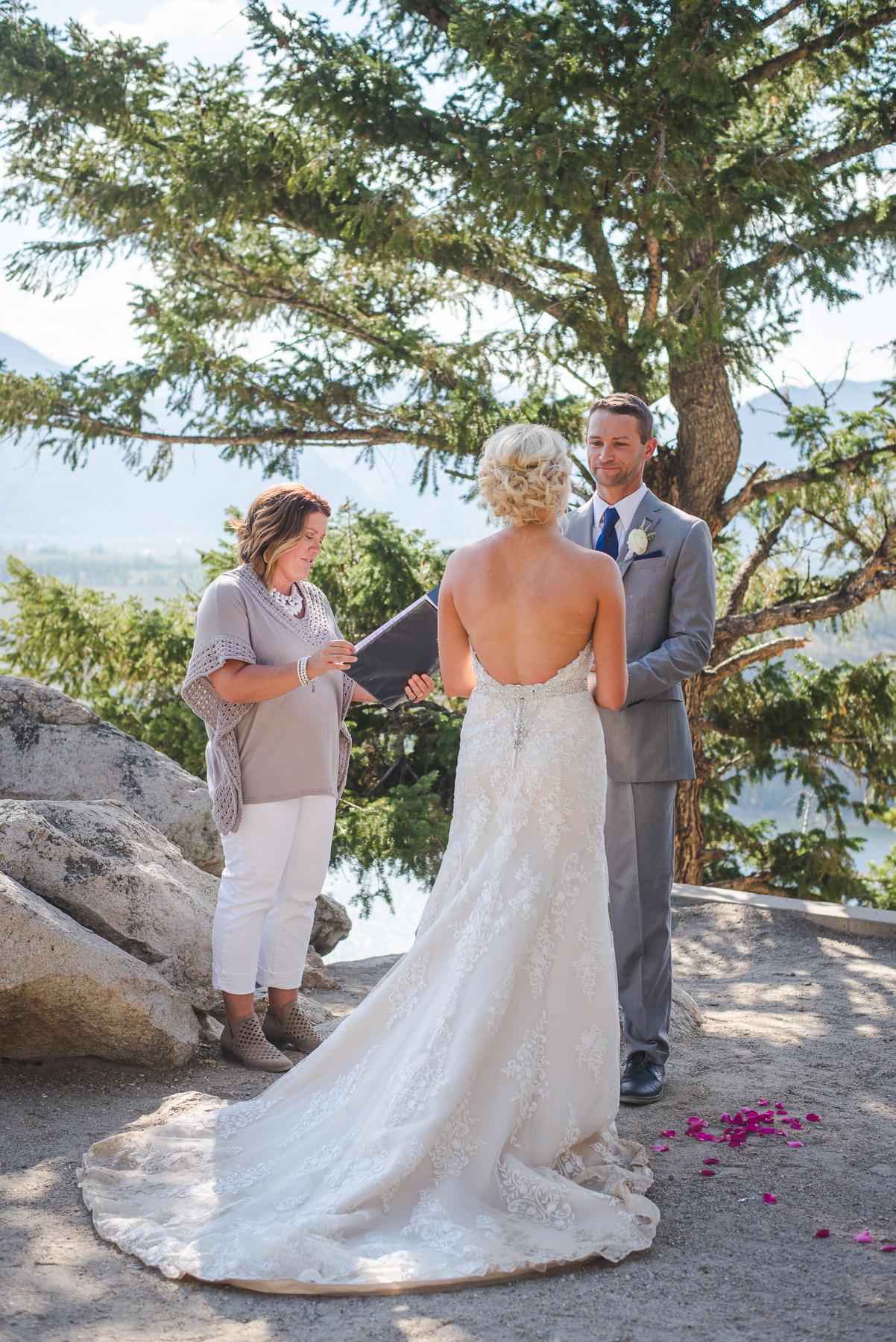 sapphire point summer wedding colorado
