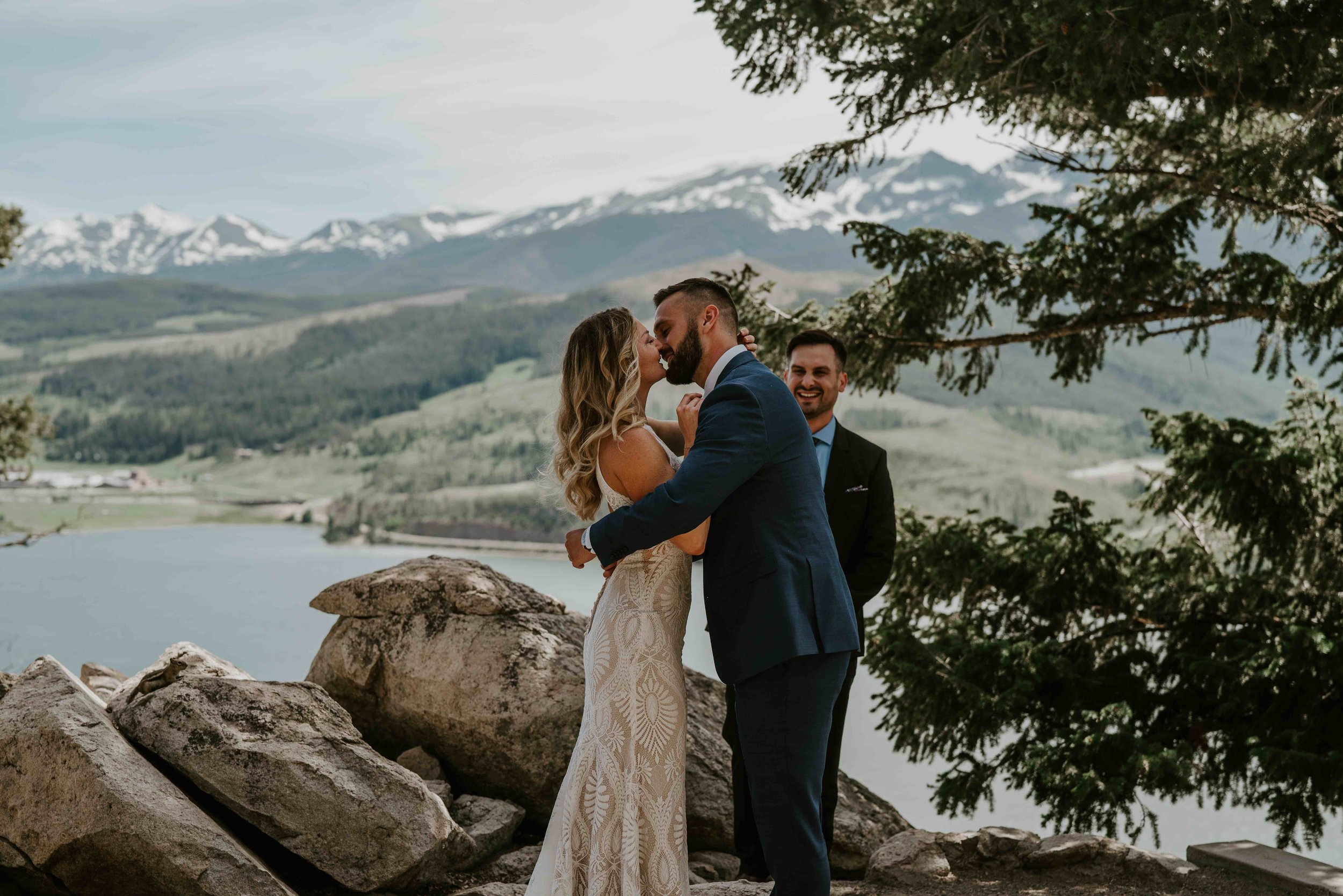 colorado small wedding sign for sapphire point   summit mountain weddings