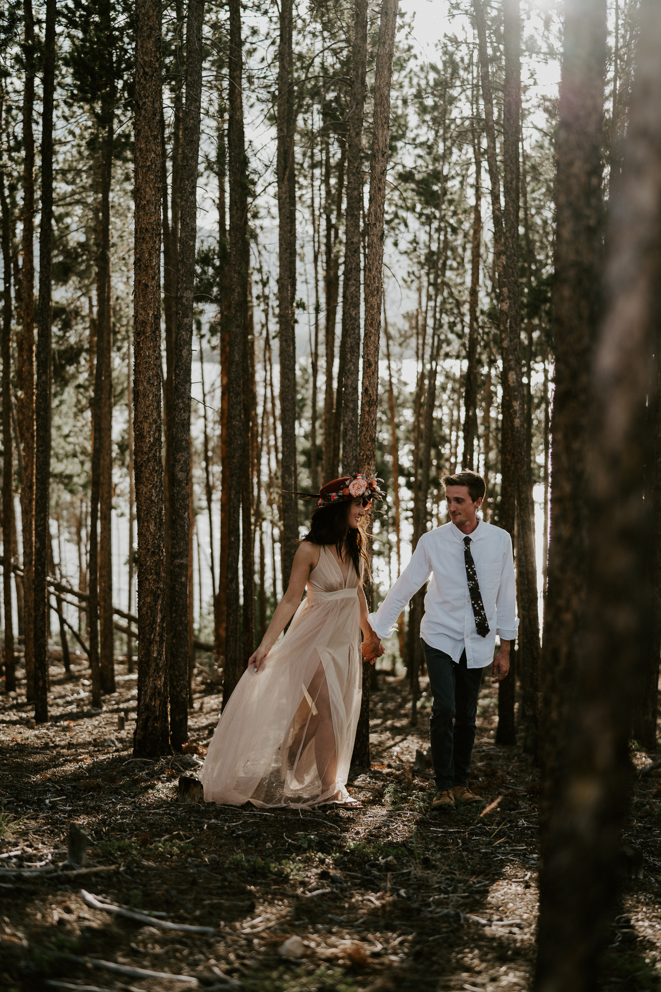 breckenridge bride and groom