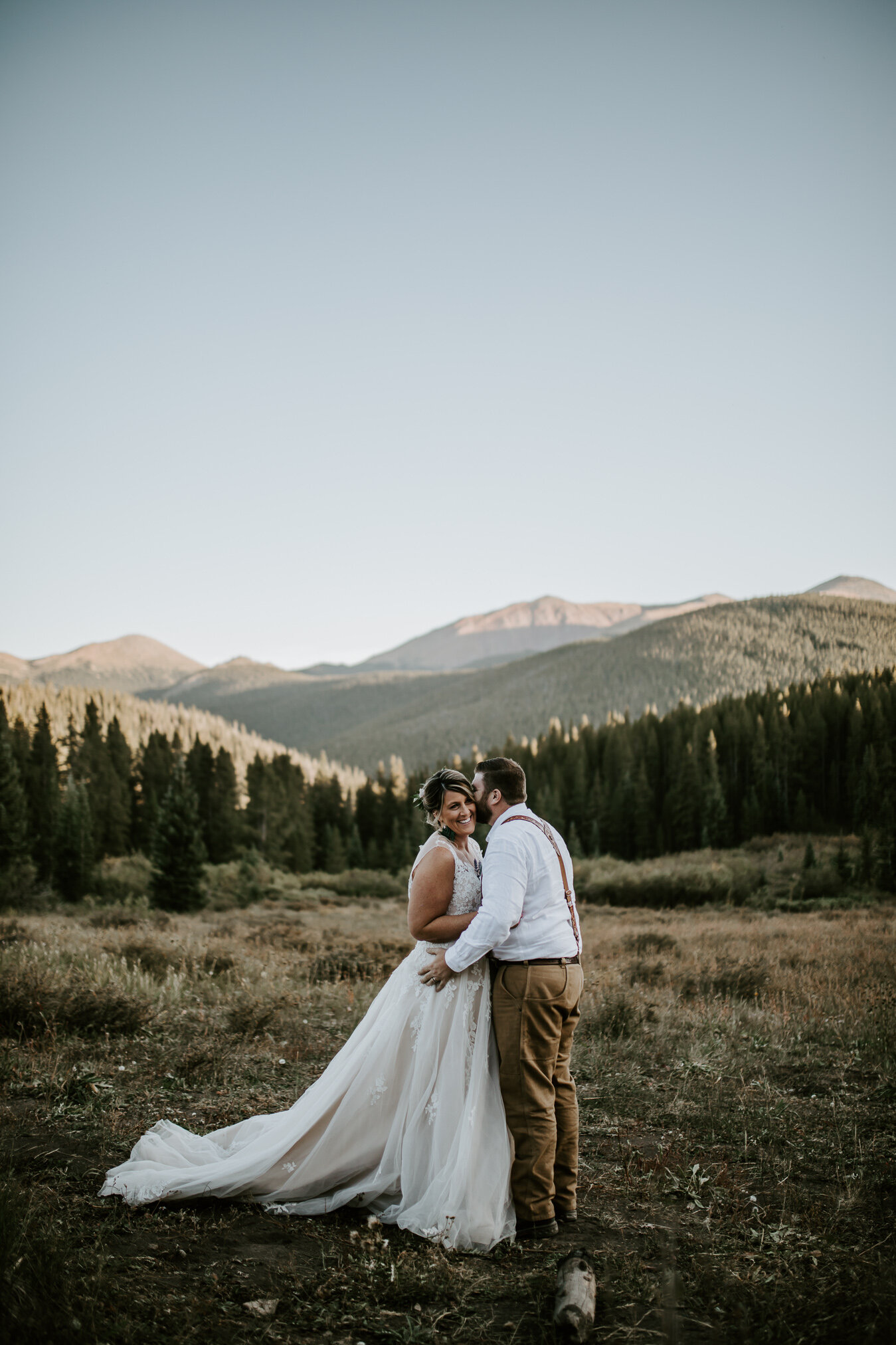 breckenridge intimate wedding boreas pass