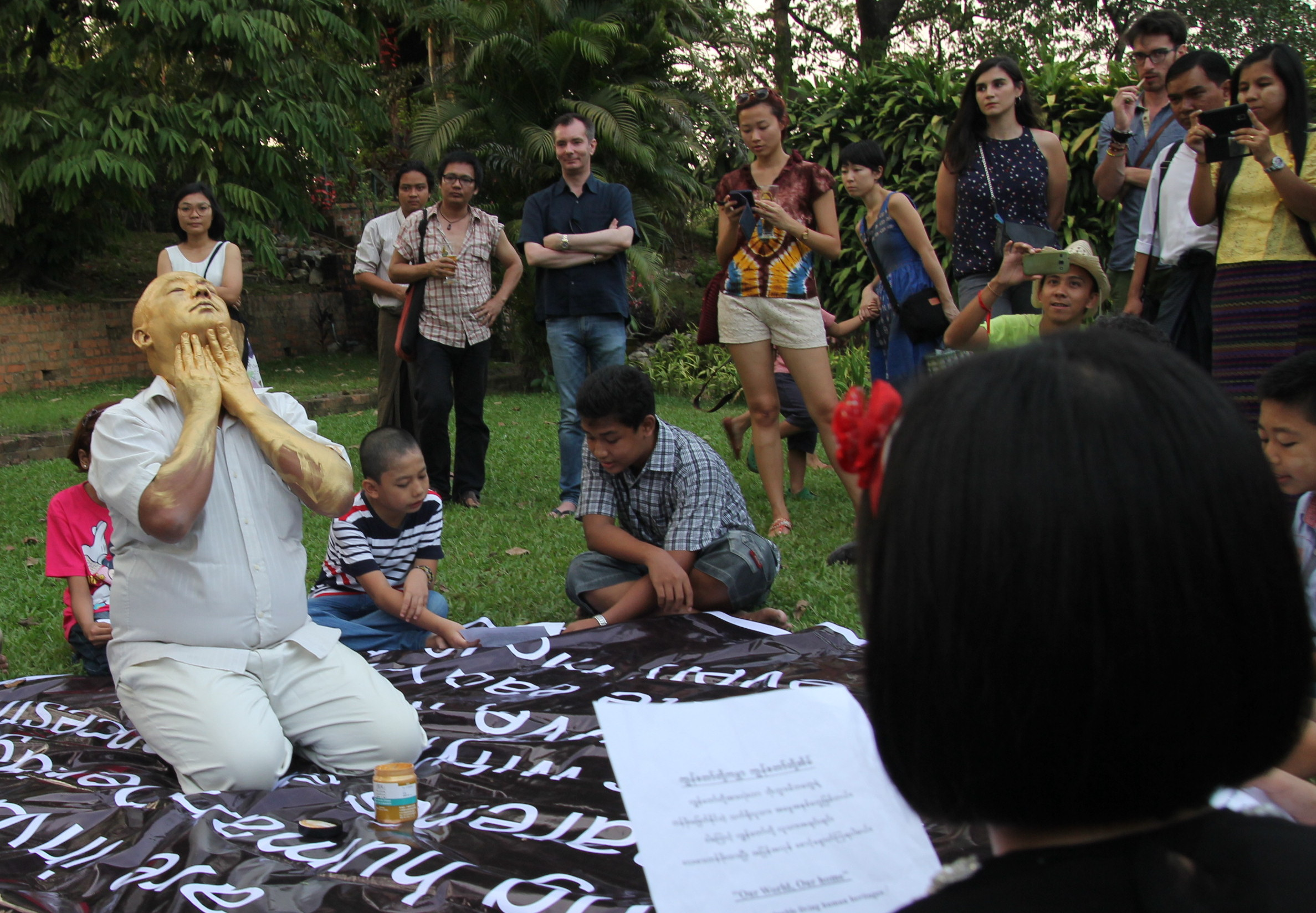Performce by  Myat Kyaw |  Photo by Zarni Phyo