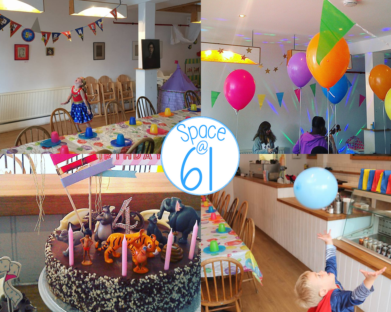 FF birthdays at Space 61 - Space at 61 has a great offer for all you FF readers; if you book quoting FF Birthdays, you will recieve 10% off your party booking. Contact: Shona Chambers Email: spaceat61@gmail.comCall: 07466 443 68161 Cheltenham Road,Nunhead, SE15 3AF