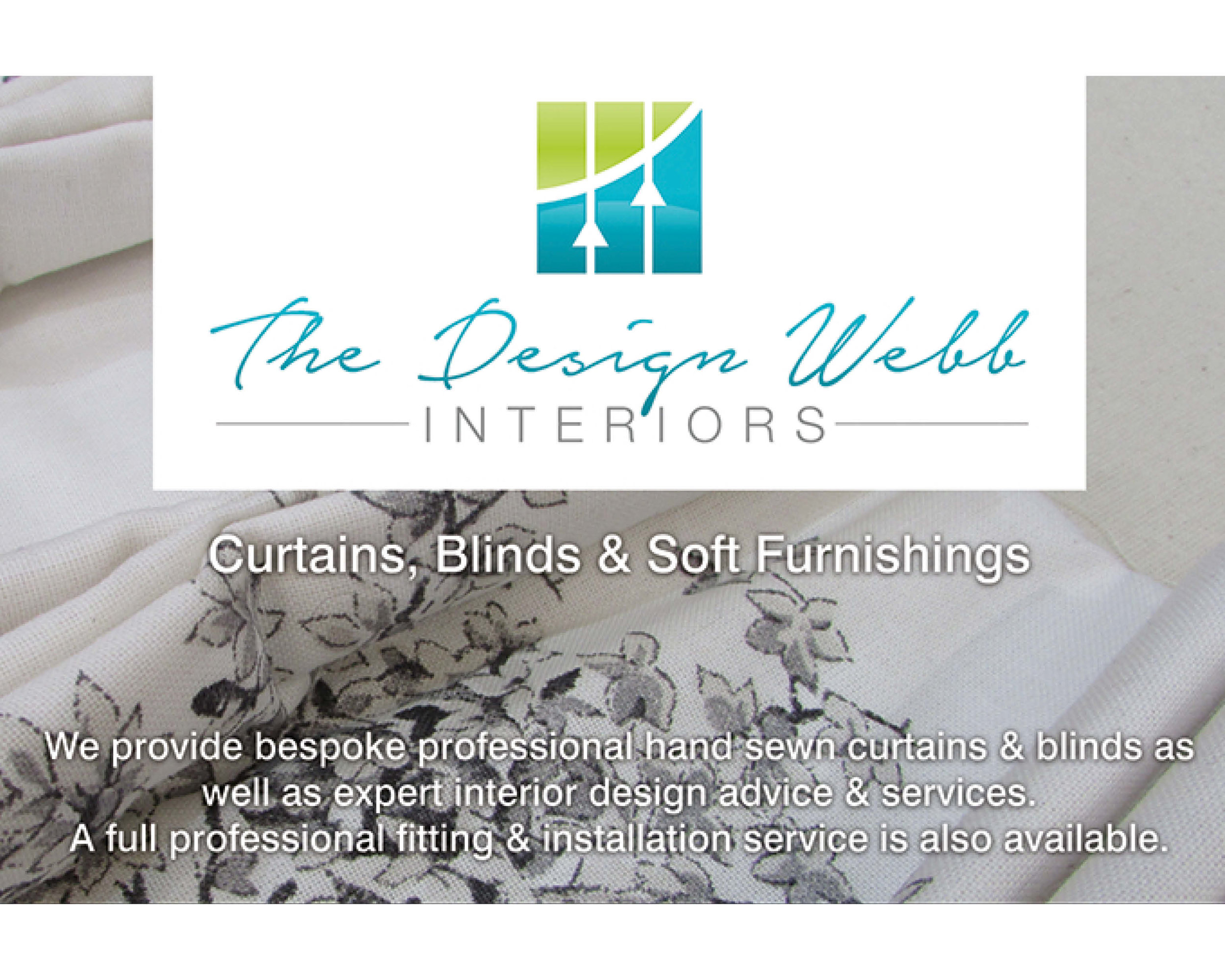 The Design Webb - Bespoke professional hand sewn curtains and blinds as well as expert interior design advice and services.Call us on: 07538 096966 or email info@thedesignwebb.co.uk