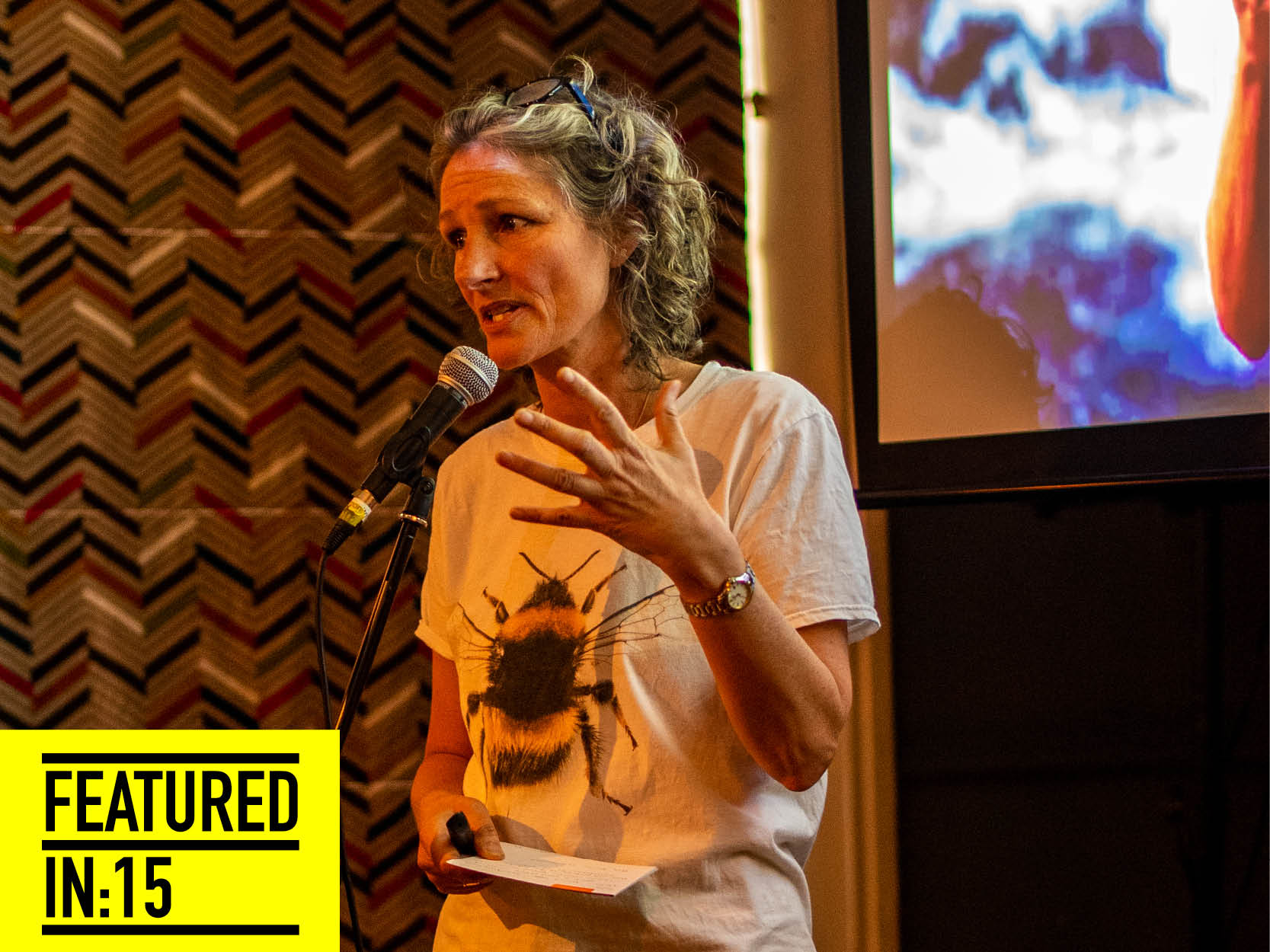 """Our second feature of last weeks FF event - Naomi Leake a speaker from  @extinctionrebellion  Shared with us the harsh realities of what's really going on with our planet. Naomi had a lot of information to impart in her fifteen minutes and some of it was frankly terrifying. If we don't get a grip as a species within eleven years we will basically not be able to stop the inevitable end of our civilisation. Thats some message to have to deliver but she did it without any of us running for the door! Naomi's message is one that cant be ignored and although her statistics about animal extrinction made you feel helpless, extinction rebellion are clear that things can change. In the light of the facts on offer their three demands seem more than reasonable: 1. Declare climate emergency 2. Make Zero Carbon by 2025 happen 3. Create a Citizens assembly. Naomis presentation has left me wanitng to find out more."""" We couldn't agree more and from what we could see, there wasn't anyone in the room that didn't feel totally saddened by the damage that can't be undone. That is a man made product. We have created a bomb of mass distruction. And all the time this has been ticking off in the background we've been blinkered by other 'threats' to society - We all have a role to putting something back don't we? We still have time… not much but let's make this time count and all think a bit more before we put that damage in. Thank you so much Naomi for reconnecting us with our one most precious shared belonging: our planet."""
