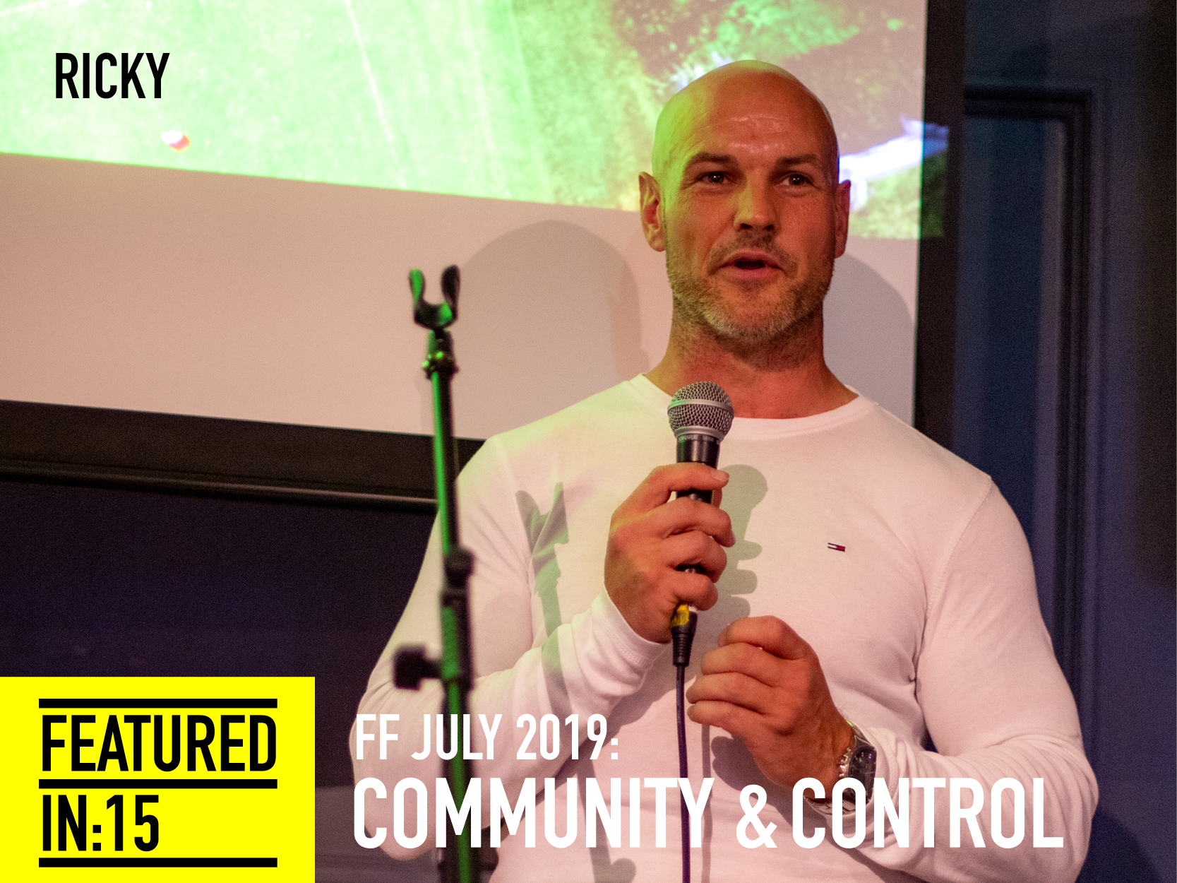 Ricky returns! Ricky first featured with us at our year anniversary in June 2017. We've become awesome FFriends since and we really wanted Ricky to come back and share his story of the last year. His feature with us in 2017 was based on the events following the tragedy at Grenfell. Ricky is a firefighter and was one of many there on the day of the disaster. The experience that day changed his life forever. In order to try and process the impact he experienced, he expressed his feelings through poetry - something he has turned to since he was very young. It's a form of expression that until recently he had concealed, his reasons being 'It's not a medium that is deemed very manly' and as society dictates his job as the optimum of masculinity you can see why he would have reservations to vocalise this. However he took the courage to share his poem with social media and as a result of it's reach, his poem was made into a short feature film called 'The fire fighter' (at this point in the evening there wasn't a dry eye in the house). Ricky went on to share with us his battle with PTSD and depression, how it presented a version of himself that he wasn't totally comfortable with and his quest to be a better person (physically and mentally) and improve his relationship with the world that he see's was vital to his fight for survival away from substances and alcohol misuse that he had also fallen into. He knew poetry was his clean salvation so he started to use it as a positive method to face other deep rooted fears he hadn't ever really challenged. Ricky shared three of his extremely moving poems with us, the third being called 'The key', an open and heart wrenching poem about his abusive step father. Ricky took us on a journey through out of control and the darkness that surrounded him to back in control to the light that now shines through him.
