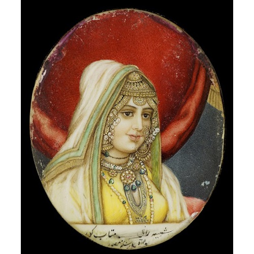 Portrait of Rani Mehtab Kaur © Toor Collection
