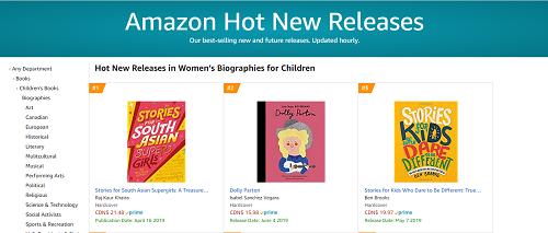 Amazon Canada: #1 Hot Releases